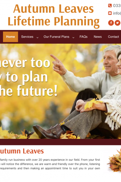 Buy any funeral plan and get a FREE WILL worth £125. Quote Cloud9 when purchasing. Offer ends 31st March 2019.