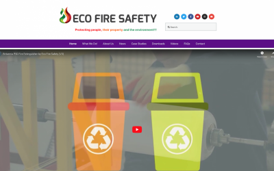 Eco Fire Safety Website